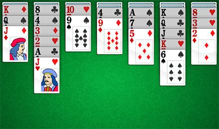 Пасьянс косынка играть по три карты онлайн